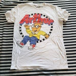 PBS kids Urban Outfitters Arthur Tshirt